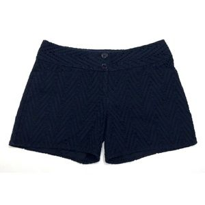 Outback Red Navy Blue Eyelet Shorts